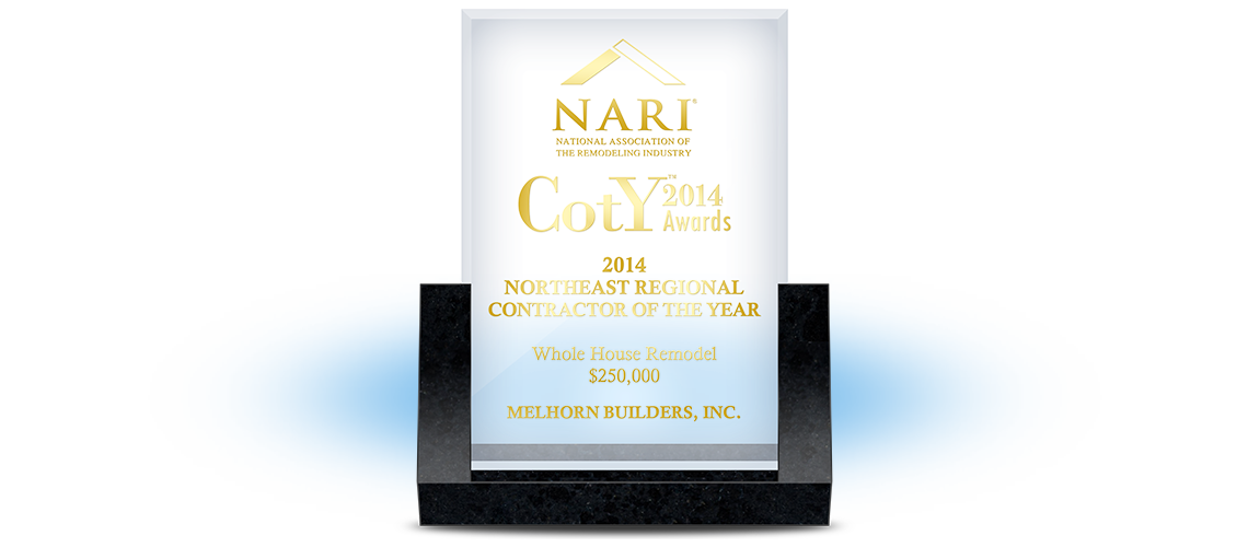NARI 2014 Northeast Region<br>Contractor of the Year